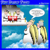 Cartoon: Cloud nine (small) by toons tagged celebrities,cloud,heaven
