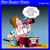 Cartoon: Cooking with wine (small) by toons tagged cooking,wine,drinkers,with,chef