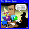 Cartoon: Divorce settlement (small) by toons tagged princess,and,the,frog,divorce,custody,battle