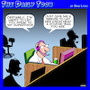 Cartoon: Douche bag (small) by toons tagged call,centers,douche,bag,insults,tech,support