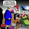 Cartoon: Emotional baggage (small) by toons tagged airline,check,in,emotional,baggage,excess,charges,travel