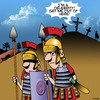 Cartoon: Get me out of here (small) by toons tagged crucifixion,easter,crucify,celebrity