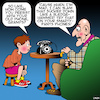 Cartoon: Hang up the phone (small) by toons tagged grandparents,smartphones,phone,hang,ups,old,fashioned,phones,grandchildren