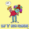 Cartoon: It (small) by toons tagged valentines,day,flowers,fauna
