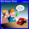 Cartoon: Landline (small) by toons tagged antique,phone,grandmothers,smartphones
