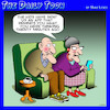 Cartoon: Latest app (small) by toons tagged old,age,alzheimers,forgetfulness,pensioner,apps