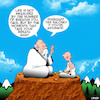 Cartoon: Life lessons (small) by toons tagged asthma,asthmatic,grasshopper,guru,motivational,sayings,education,wise,old,man,baloney