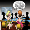 Cartoon: Marry a billionaire (small) by toons tagged single,girls,perfect,partners,flirting,one,night,stand