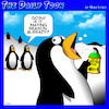 Cartoon: Mating season (small) by toons tagged penguins,mating,mouthwash,perfume,fish