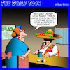 Cartoon: Mexican standoff (small) by toons tagged seniors,senor,mexicans,pensioners,discounts,mexico,sombrero
