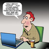 Cartoon: Moustache (small) by toons tagged moustache,facebook,unfriended,wall,likes,compliments,laptop,beards,hirsute
