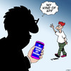 Cartoon: My kind of app (small) by toons tagged morons,idiots,apps,fools