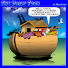 Cartoon: Noahs ark (small) by toons tagged weather,floods,noahs,ark