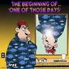 Cartoon: One of those days (small) by toons tagged bad,day,mirrors,accidents