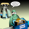 Cartoon: Organ donor (small) by toons tagged organ,donors,operating,theater,surgery,donor,electric
