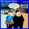 Cartoon: Peeping Tom (small) by toons tagged neighborhood,watch,pervert,peeping,tom,arrested,cops,police