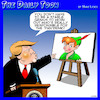 Cartoon: Peter Pandemic (small) by toons tagged trump,peter,pan,neverland,lies