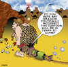 Cartoon: Politically incorrect (small) by toons tagged prehistoric,politically,incorrect,caveman,cave,woman,black