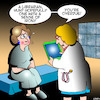 Cartoon: Pregnant (small) by toons tagged librarian,pregnant,overdue,library,doctor,diagnosis