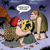 Cartoon: Resume (small) by toons tagged caveman,prehistoric,resume,employment,history