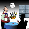 Cartoon: Salad special (small) by toons tagged caesar,salad,waiters,restaurants,julius,romans,salads
