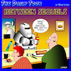 Cartoon: Star Wars (small) by toons tagged force,be,with,you,star,wars,sequels