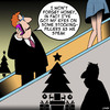Cartoon: Stocking filler (small) by toons tagged christmas,shopping,stocking,fillers,long,legs,escalator,gifts,mini,skirt