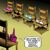 Cartoon: Support group (small) by toons tagged bras,support,group,womens,underwear,breasts,cleavage