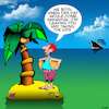 Cartoon: Taking the kids (small) by toons tagged desert,island,separation,coconuts,rescue,ship