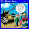 Cartoon: Tanks for nothing (small) by toons tagged social,distancing,coronavirus,covid,19,car,sales