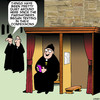 Cartoon: Texting (small) by toons tagged confessional,booth,sins,texting,messaging,social,media,twitter