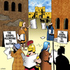 Cartoon: The Gospel according to (small) by toons tagged gospel,bible,tabloids,newspapers