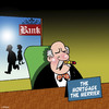Cartoon: The mortgage the merrier (small) by toons tagged banks,home,loans,mortgage,bankers,money