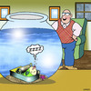 Cartoon: The sleeper (small) by toons tagged sardines,fish,tank,pets