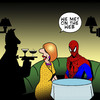 Cartoon: The World wide web (small) by toons tagged spiderman,world,wide,web,online