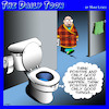 Cartoon: Toilet humor (small) by toons tagged toilets,positive,thinking,wellbeing,toilet,bowl,lifestyle,coach,bathrooms,crap