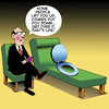 Cartoon: Toilet seat (small) by toons tagged toilet,seat,put,down,bullying,thats,life