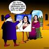 Cartoon: trying to raise a smile (small) by toons tagged mona,lisa,leonardo,da,vinci,portrait,painter,comedian,comedy,jokes,sistine,chapel,louvre,italy,italian,paintings