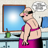 Cartoon: Turning into my mother (small) by toons tagged cross,dresser,turning,into,my,mother,gender,change,drag,queen,gay,man,in,bra