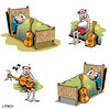 Cartoon: twang (small) by toons tagged music guitar sleeping musical notes lazy artist band concert lessons