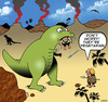 Cartoon: Vegetarian (small) by toons tagged dinosaurs,vegetarian,vegan,caveman,prehistoric,hunting
