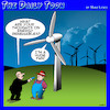 Cartoon: Wind farm (small) by toons tagged renewable,energy,wind,turbines,farms,fans