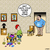 Cartoon: your father gets home (small) by toons tagged gay,marriage,same,sex,relationship,family,fatherhood,parents,children,homosexual,love,kids