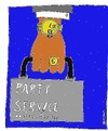 Cartoon: Party-Service (small) by Müller tagged party,partyservice,drogen,drugs,kokain,cocain,illegal
