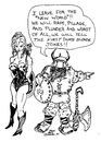 Cartoon: DUMB BLONDE VIKING (small) by Toonstalk tagged first dumb blonde joke