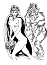 Cartoon: RED RIDINGHOODS GOODIES (small) by Toonstalk tagged sexy,red,ridinghood,wolf,erotic,fable,nude