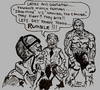 Cartoon: ULTIMATE WARRIORS (small) by Toonstalk tagged mike tyson hannibal the cannibal ultimate warriors
