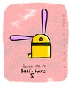 Cartoon: Hasi 70 (small) by schwoe tagged hase,hasi,droid,starwars,roboter,jedi