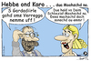 Cartoon: Hebbe ond Karo - dua Moohschd na (small) by TOSKIO-SCHWAEBISCH tagged toskio vtms cartoon schwäbisch tex pander most moohschd schwääbisch schwäbisches