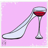 Cartoon: FETISH WINE (small) by majezik tagged wine,shoes,glass